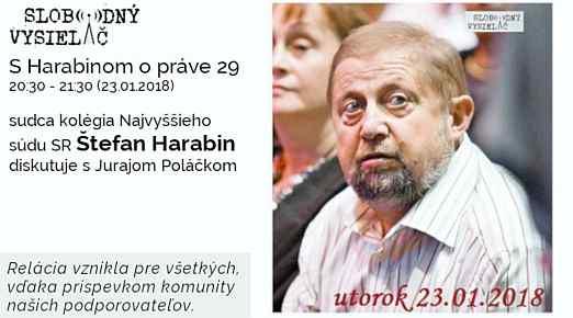 29 Harabin opráve