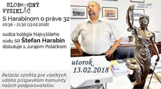 32 Harabin opráve