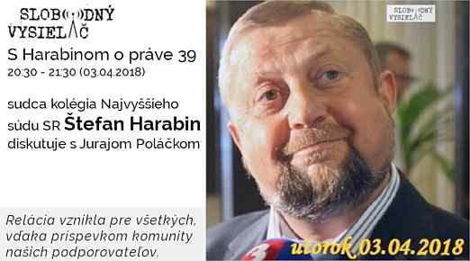 39 Harabin opráve