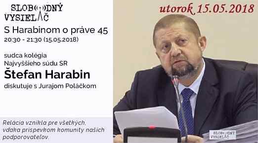 45 Harabin opráve