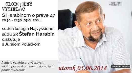 47 Harabin opráve